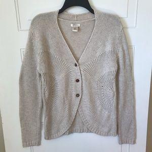 Sundance Thick Knit Cardigan Sweater Size L